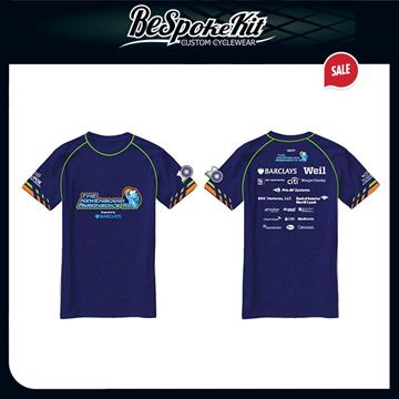 Picture of 2017 Event Technical T-Shirt (Blue) Only in XL and 2XL