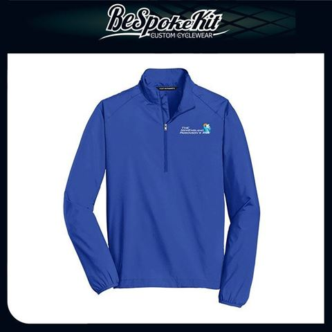 Picture of 1/2-Zip Wind and Water Resistant 1/2 zip Pullover