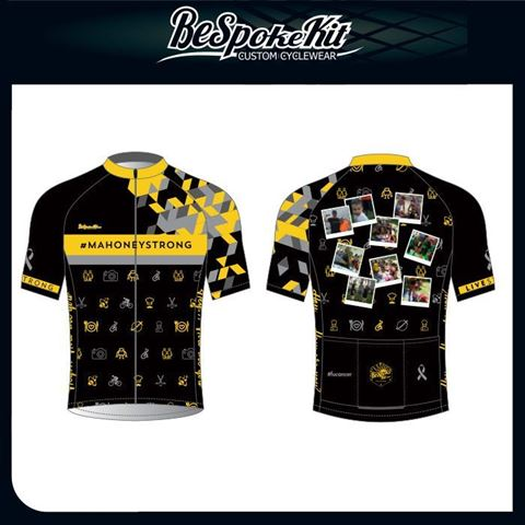 Picture of #MAHONEYSTRONG Tribute Cycling Jersey