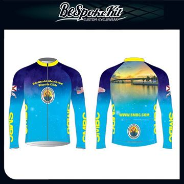 Picture of SMBC Long Sleeve Cycling Jersey